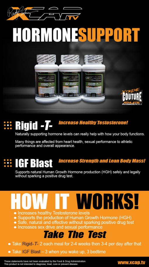 Hormone Support Pack • Rigid -T- & IGF Blast